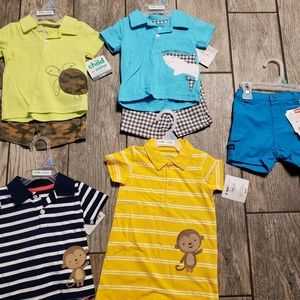Child of mine by carters boys outfits nwt